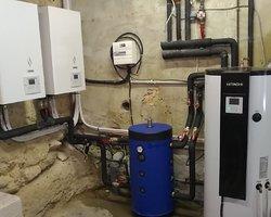 installation Pompe à chaleur - Rochegude 26790 - Cyril Bruscolini